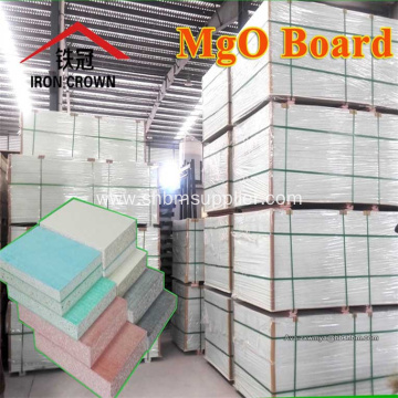 Heat-Insulating No-formaldehyde Fire-proof 12mm MgO Board